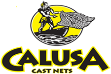 Calusa cast nets for catching bait fish with chum