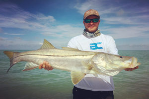 Fishing for snook on Sanibel and Captiva Island in Florida