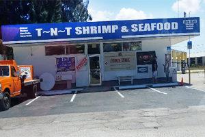 TnT shrimp and bait chum near El Jobean bridge